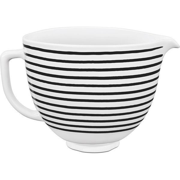 Keramikskål Horizontal Stripes 4,7L