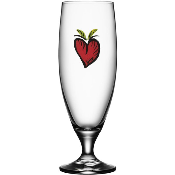 Friendship Ölglas Hearts 50 cl