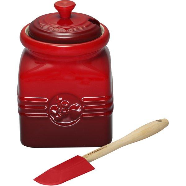 Marmeladeboks med Sleiv Rød