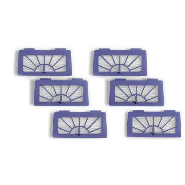 6-pack XV-series High Performance filter