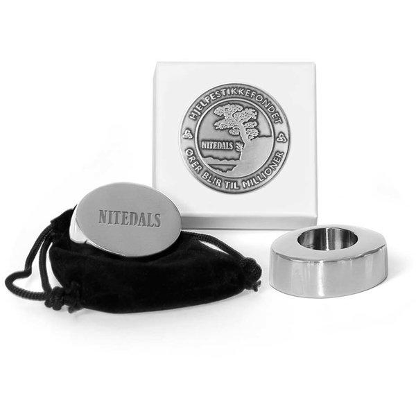 Nitedals Ljusstake Silver