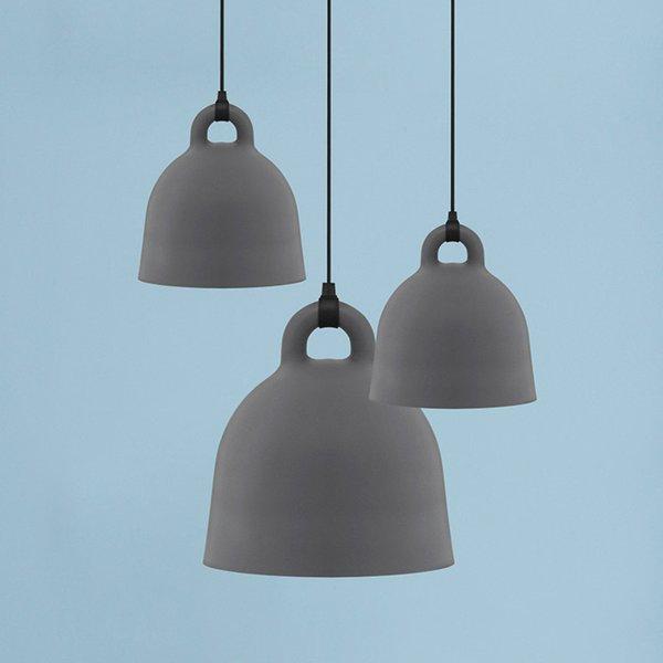 Beställ Bell Lamp Small EU Grey från Normann Copenhagen