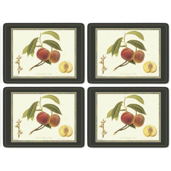 Hooker Fruits Bordsunderlägg 4-pack