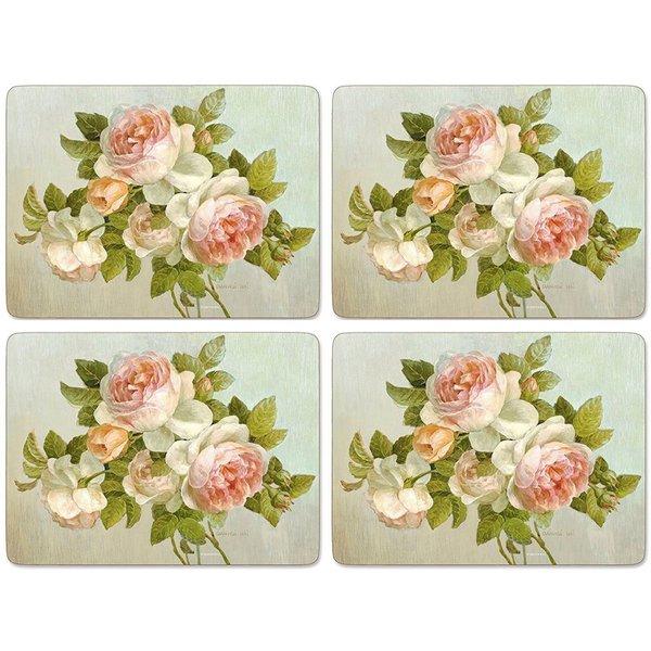 Dækkeserviettet 'Antique Rose'