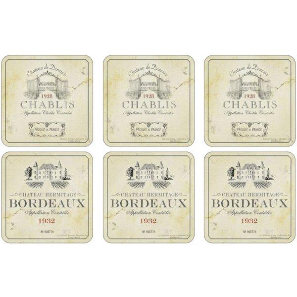 Vin de France Glasunderlägg 6-pack