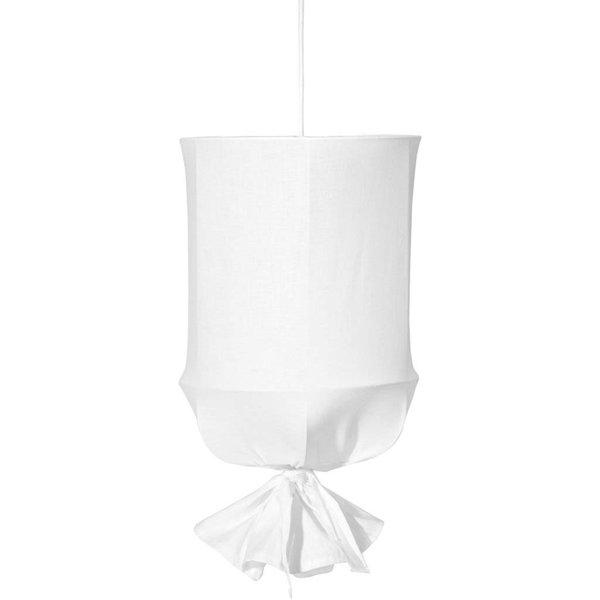 Takskärm Ø 30 cm vit