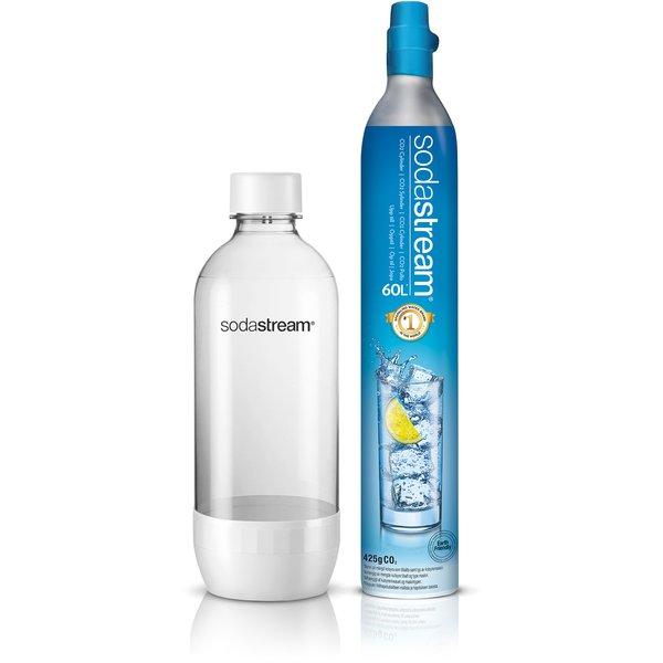Promopack kulsyrepatron og  flaske