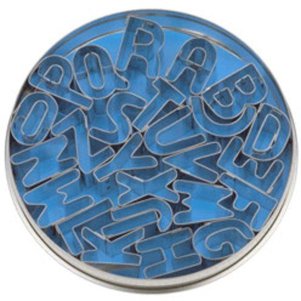 Kakformar Bokstäver 26 stNonstick Aluminium 34 x 11,5 x 9 cm