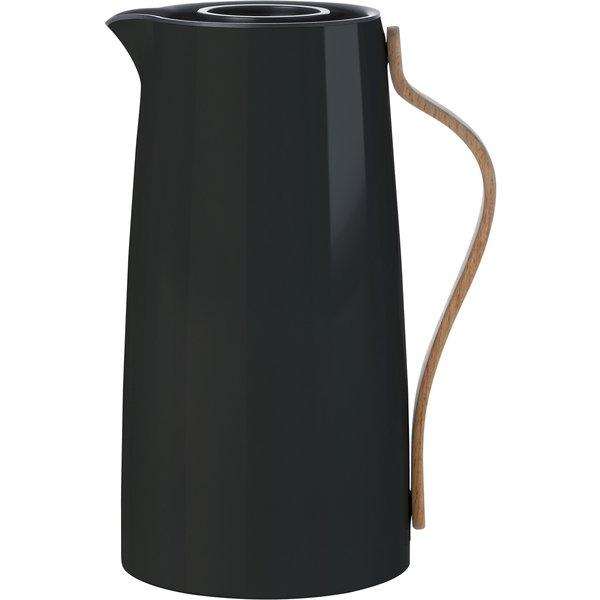 Emma termokande sort - kaffe 1,2 liter