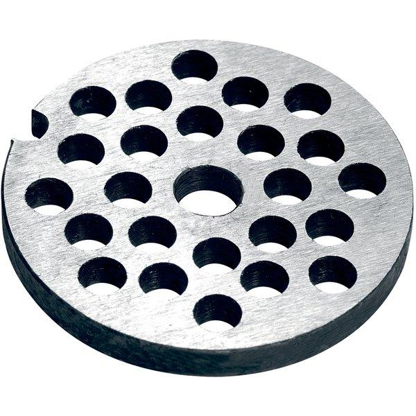 Hålskiva 6 mm till manuell köttkvarn storlek 8