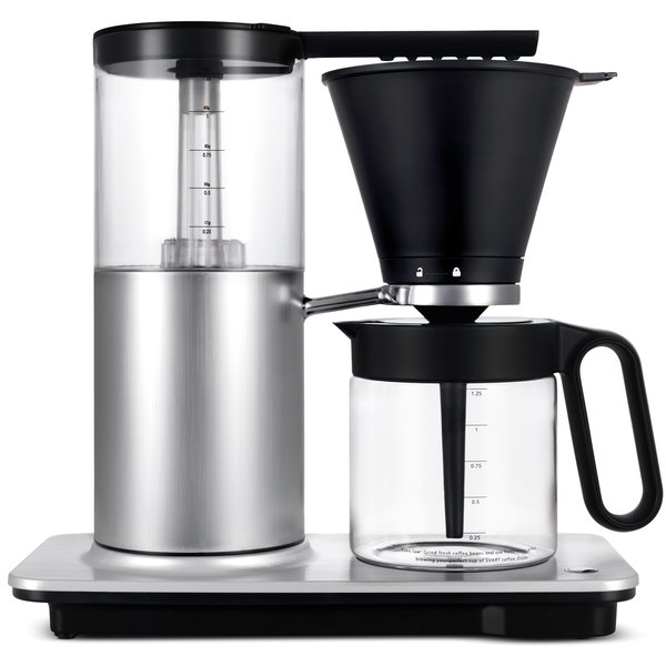 Svart Optimal kaffemaskine